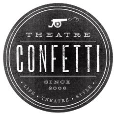 Love the black and white that creates versatility for a variety of uses. The visual is creative and is not usually associated with theatre.