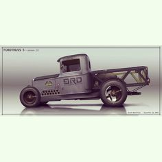 """""""Latest rendering of my truck project. The """"Fordtruss 5."""""""""""