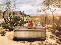 A stock tank pool is a great and affordable way to cool down in the summer. In this DIY, we go over all of the parts you need to make your own. Round Stock Tank, Stock Tank Pool, Outdoor Tub, Pool Sizes, Backyard Paradise, Desert Homes, Garden Pool, In Ground Pools, Pool Designs