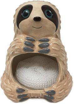 Sloth Sponge Holder #sloth #kitchencaddy #ad