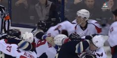 Alex Ovechkin pushed too far, gets into fight with Blue Jackets' Josh Anderson