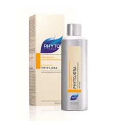 Phyto Phytojoba é um champô suave, untuoso e altamente hidratante. Rapidamente, o cabelo recupera o seu grau de hidratação ótimo, o brilho e a flexibilidade. Para cabelos secos. Com óleo de jojoba.