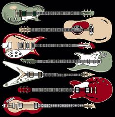 These electric guitars are fantastic!!!!