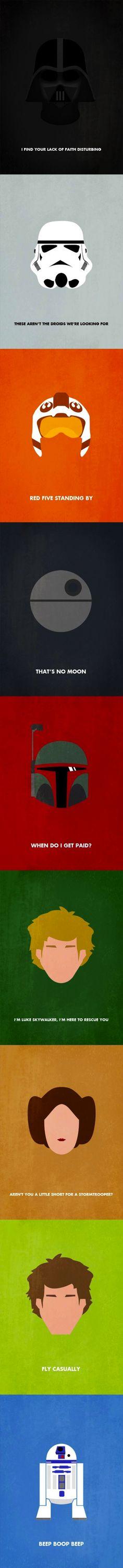 Star Wars Minimalistic Characters