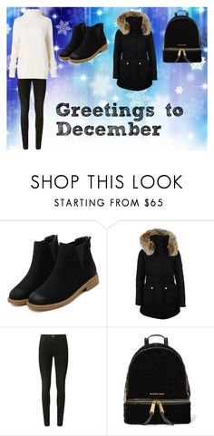 """""""My Most Loved Month..."""" by die-ammy ❤ liked on Polyvore featuring K100 Karrimor, J Brand, MICHAEL Michael Kors, Diane Von Furstenberg and december"""