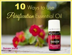 10 Ways to Use Purification Essential Oil