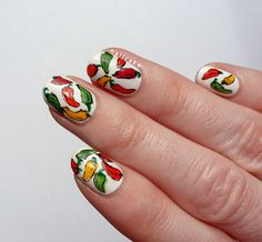Feelin' Hot Hot Hot | Chilli Pepper Nail Art