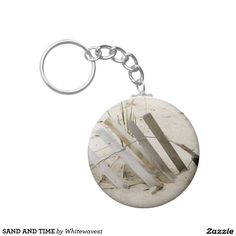 SAND AND TIME KEYCHAINS