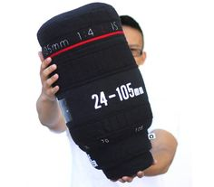 Focus On Sleep With A Camera Lens Pillow via @Incredible Things
