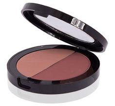 De Pressed Duo Blush Romantica is een compacte blush waarmee je in een handomdraai het tot blosjes geknepen wangen Assepoester effect geeft #Mineralogie #Mineral #Makeup