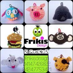 Frikia hamburguesa, frikis dark vaider, frikis oso pirata, frikis elefante, frikis mono! ❤️❤️❤️ que esperas para tener el tuyo?