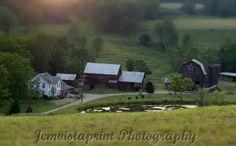 Tiny Farm tilt shift photo art print home decor by Jemvistaprint, $25.00