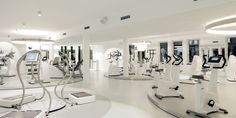 CIRCLE – PRIVATE HEALTH CLUB Minimal space for maximal power - [Interior Design] - image 1 - red dot 21: global design directory