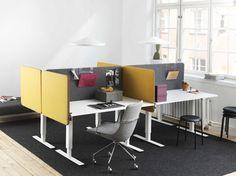Softline office screens | Upholstered office screens