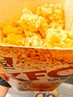 something soft but crunchie  hotshots to the tummy!  #foodporn #KFC