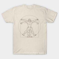 Vitruvian son of man T-Shirt - Tarzan T-Shirt is $13 today at TeePublic! Tarzan, Sons, T Shirt, Supreme T Shirt, Tee, My Son, Boys, Tee Shirt