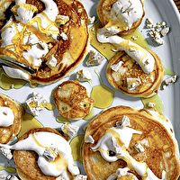 Pancakes with Warm Maple Syrup & Coffee Butter by Richard Blais