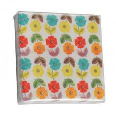 Papierservietten Blumen von Rexinter
