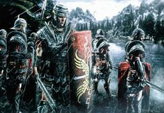 In The Cold Valley by on DeviantArt Rome History, Ancient History, European History, American History, Imperial Legion, Imperial Skyrim, Roman Warriors, Roman Legion, Roman Soldiers