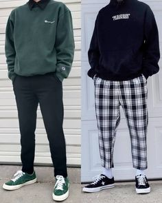 ♥ ideas fashion mens streetwear outfit for 2020 1 Mode Outfits, Retro Outfits, Grunge Outfits, Trendy Outfits, Plad Outfits, Fresh Outfits, Aesthetic Fashion, Aesthetic Clothes, Korean Aesthetic
