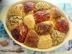 Greek Cooking, Pretzel Bites, Great Recipes, Food To Make, Cereal, Recipies, Deserts, Muffins, Food And Drink