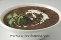 Dal Maharani - Urad dal and rajma preparation enriched with fresh cream.