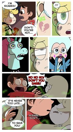 """49th page of """"Broken"""" Comic by Anomalyah on Tumblr- part 2"""
