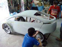 Electric Car Concept, Electric Cars, Velo Tricycle, E Quad, Electric Cargo Bike, Mini Jeep, E Biker, Solar Car, Microcar
