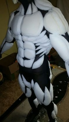 Image result for how to make muscle suit  of foam