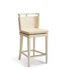 "Caicos Swivel Counter Height Bar Stool (26""H Seat)"