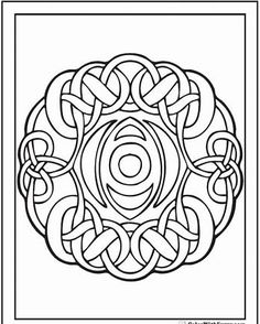 183 Best Celtic inspired coloring pages images in 2018