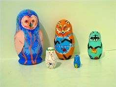 Russian Nesting Dolls-Animals by *Daaakota on deviantART