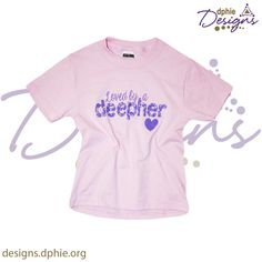 A cute new t for the little ones in our lives!! Loved by a Deepher!! <3 Now available on DPhiE Designs!! Delta Phi Epsilon Kids T!