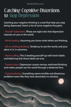 """Click to read the complete article."""" Want to know how to stop being depressed? Read this and get concrete tools and ideas on how to stop feeling depressed on HealthyPlace."""" www.HealthyPlace.com"""