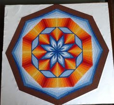 How to Make 3D Rangoli Designs