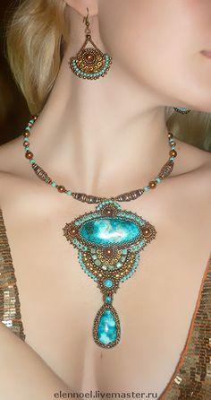 Necklace & Earrings | Elen Noel. 'Cassiopeia'