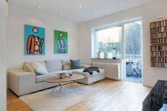 Small Modern Apartment Interior Design - homenewdesign.com