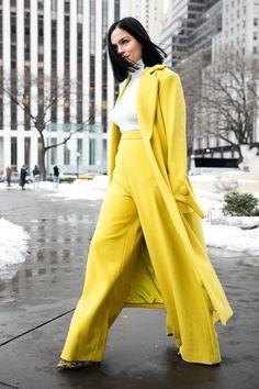 Prendi spunto dallo street style dalla New York Fashion Week Estilo Fashion, Fashion Moda, Ideias Fashion, Womens Fashion, Street Style Inspiration, Mode Inspiration, New York Fashion Week 2017, Belle Silhouette, Look 2018