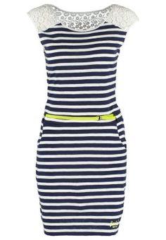 Платье из джерси - navy stripe