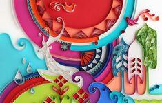 Paper Art by Yulia Brodskaya – Fubiz™