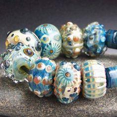 SOLD. MruMru.com lampwork beads. | Flickr - Photo Sharing!