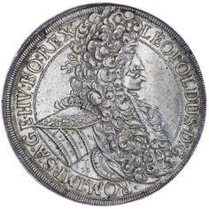 Leopold I. 1657 - 1705 Taler 1704 Wien Silber