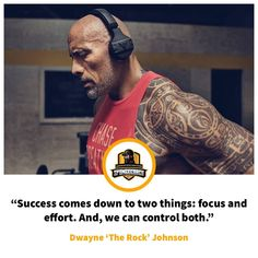 50 Best Motivational Quotes From Famous Athletes   Coaches - Dwayne The  Rock Johnson Quote e66f7b8e5