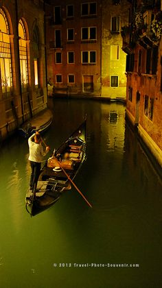 Gondola ride by night, Venice, province of Venezia , Veneto. Vacation Places, Italy Vacation, Places To Travel, Italy Travel Packages, Venice Travel, Adventure Awaits, Oh The Places You'll Go, Wonders Of The World, Beautiful Places