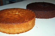 Bei meiner Herztorte  hatte ich euch das Rezept des Wunderkuchens bereits vorgestellt, aber der Kuchen ist so eine tolle Grundlage für Torte...