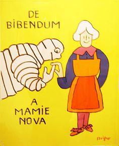 De Bibendum A Mamie Nova|ポスター|Happy Graphic Gallery ハッピーグラフィックギャラリー