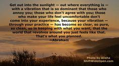 Abraham sunlight