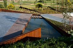 enochliew: Forum of Granada by Federico Wulff Barreiro & Francisco del Corral In the limit where the city edge of Granada merges with the agricultural landscape of its surroundings, the new Forum public space is developed.