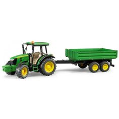 The John Deere Tractor With Trailer from the Bruder Tractor collection. One of our favourite models in the Bruder Tractor and Trailer range is the Bruder John Deere With Trailer. Huracan Lamborghini, Lamborghini Diablo, Tandem, Walk Behind Tractor, Cement Mixers, Compact Tractors, Farm Toys, Garbage Truck, Tomy