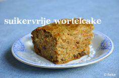 suikervrije wortelcake
